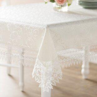 Vintage Lace Tablecloth | Wayfair