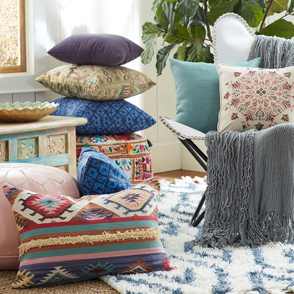 Bohemian Pillows Amp Throws Joss Amp Main