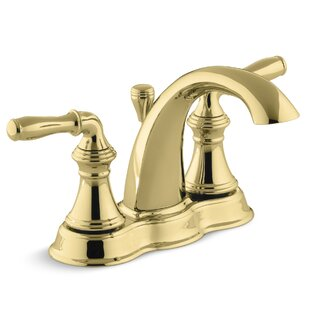 Attrayant Polished Brass Bathroom Sink Faucets