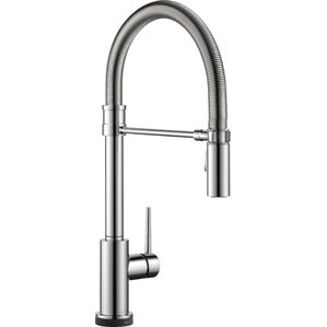 Trinsic Pro Pull Down Touch Single Handle Kitchen Faucet With LED Light