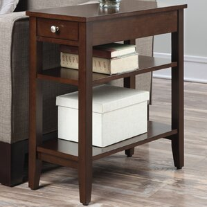 Greenspan End Table With Storage� by Three Posts