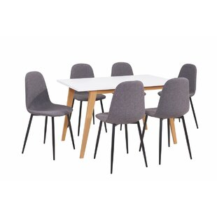 Mauricio 7 Pieces Dining Set #1