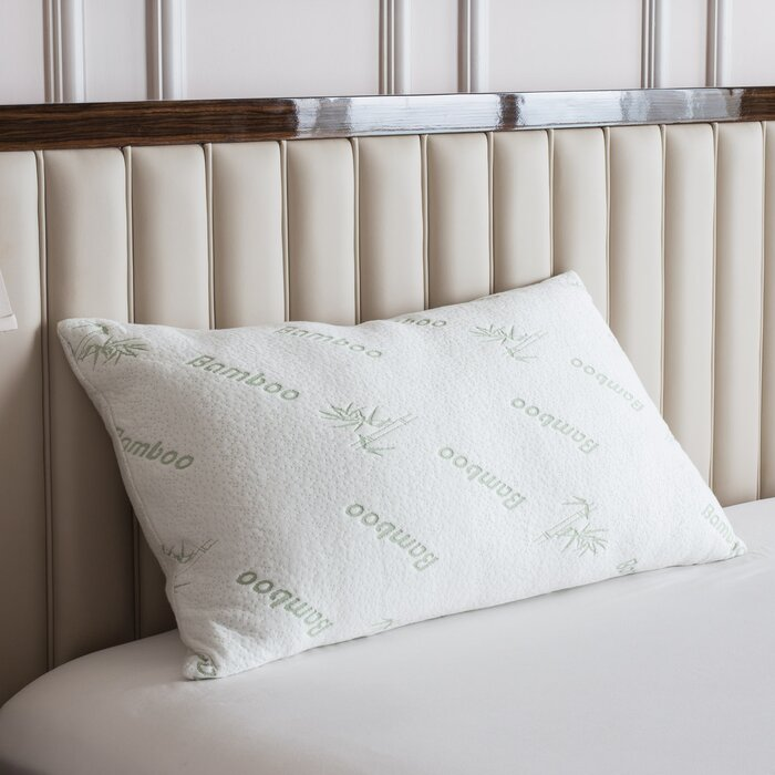 from on overstock ultimate foam bedding bath bamboo memory orders shipping pillow free rayon over product