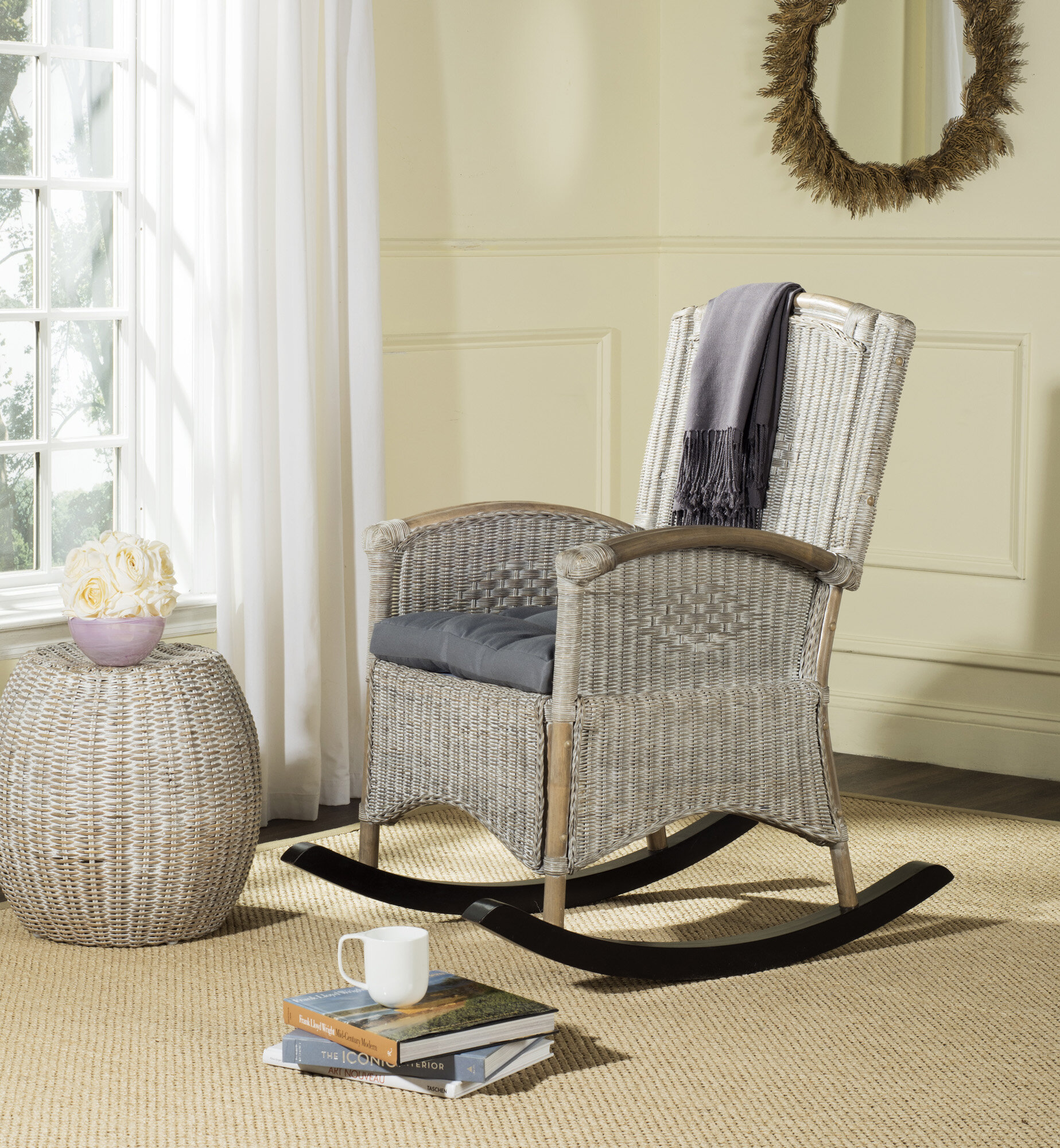 Loon Peak Cheyenne Rocking Chair & Reviews | Wayfair