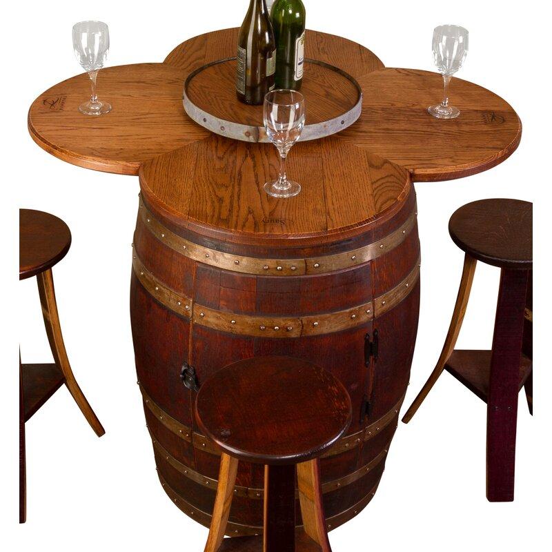 Napa East Collection Wine Barrel 6 Piece Dining Set Reviews Wayfair