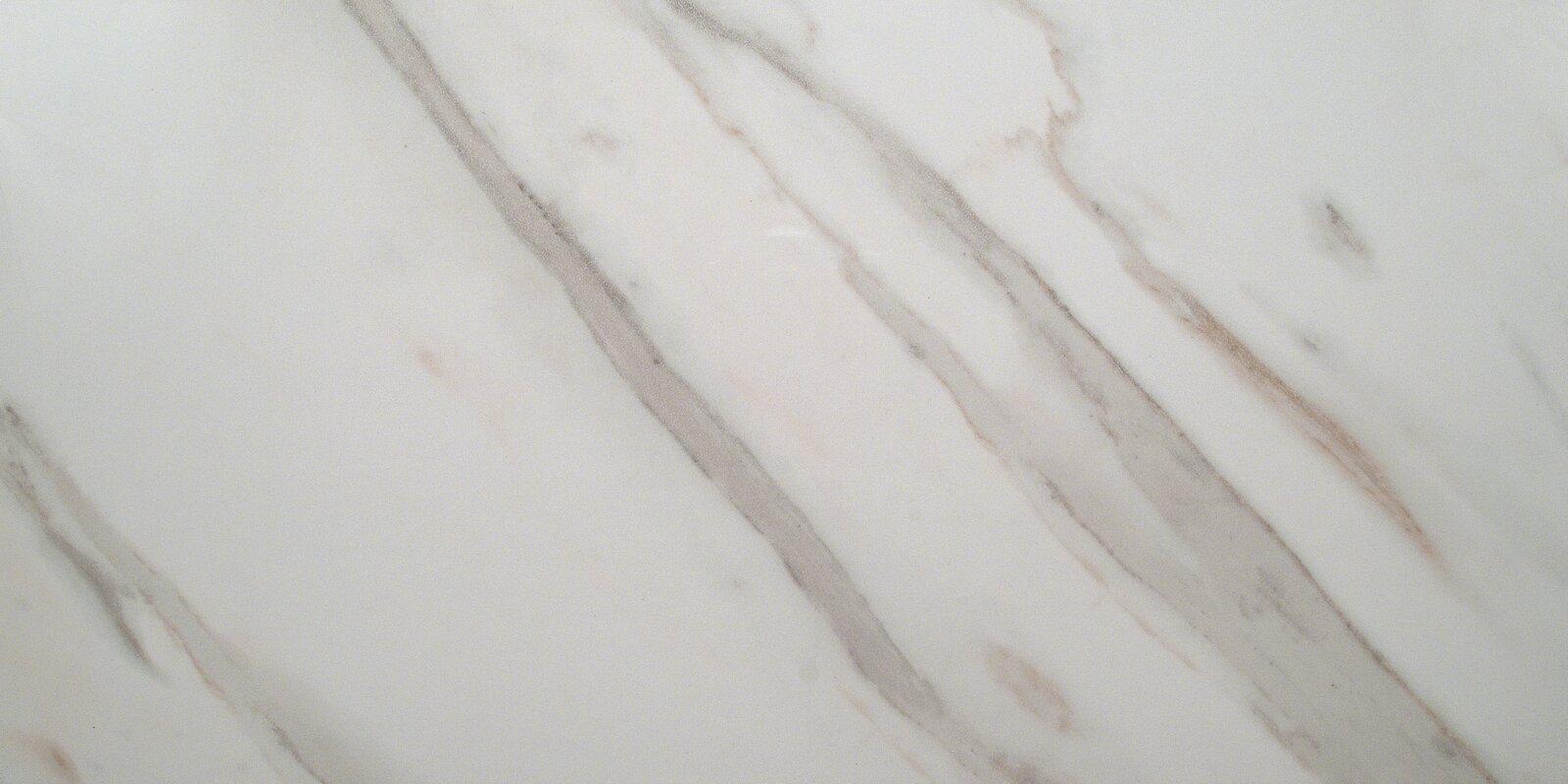 Pietra Calacatta 12 Quot X 24 Quot Porcelain Field Tile In White