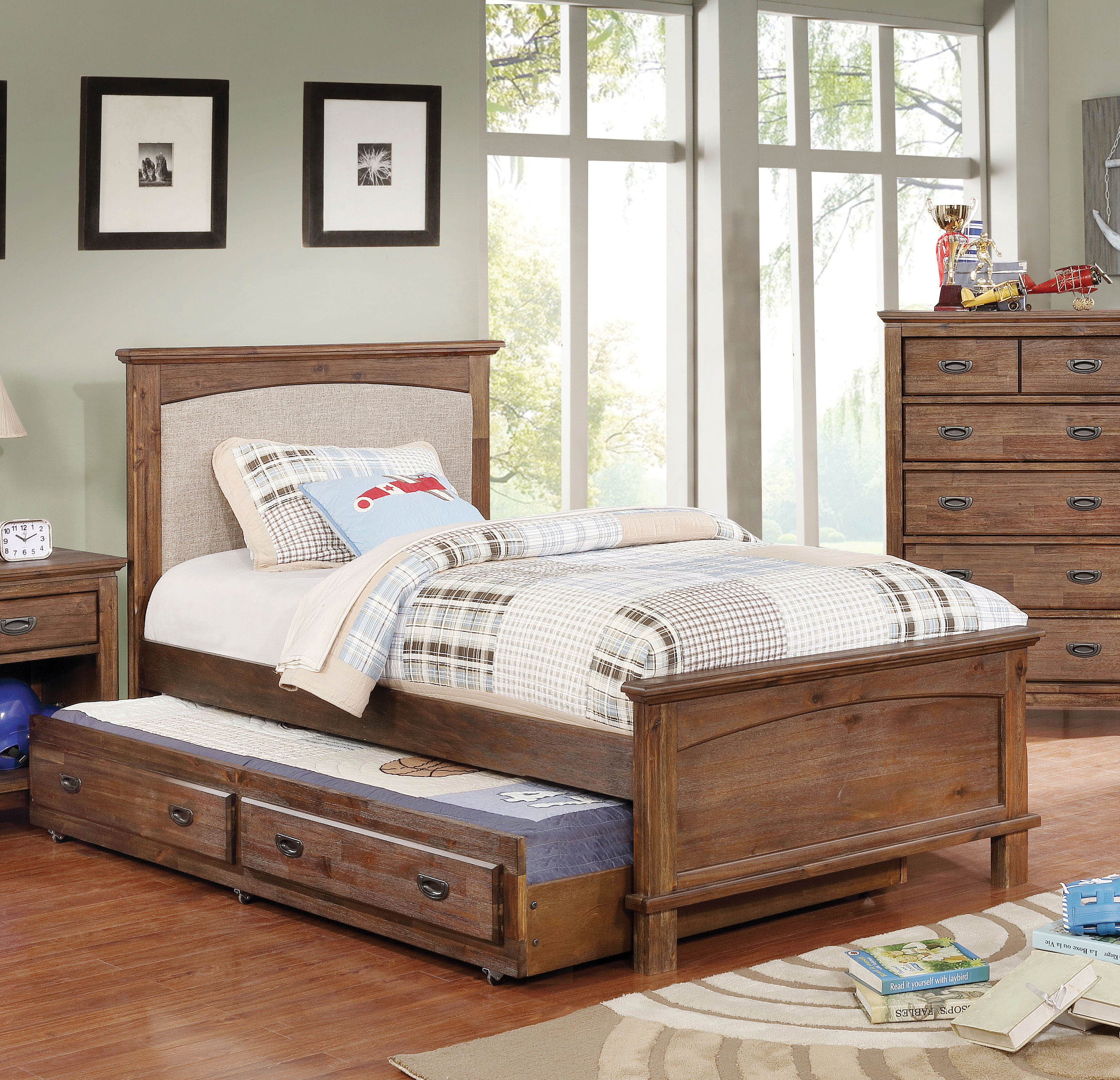 Millwood Pines Lucien Transitional Platform Configurable Bedroom Set & Reviews