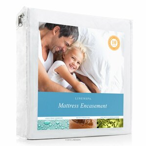 Encasement Waterproof Mattress Protector by Linenspa