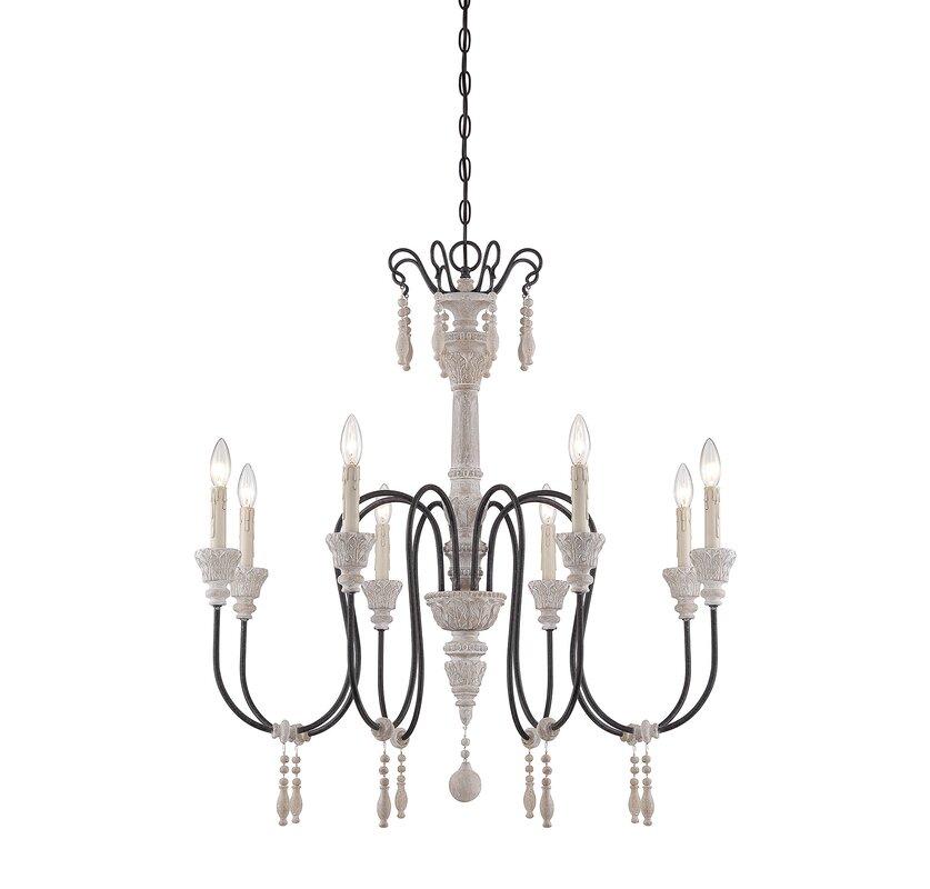 mazzariello 8light candlestyle chandelier