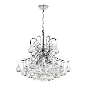 Kinkead 6-Light Crystal Chandelier