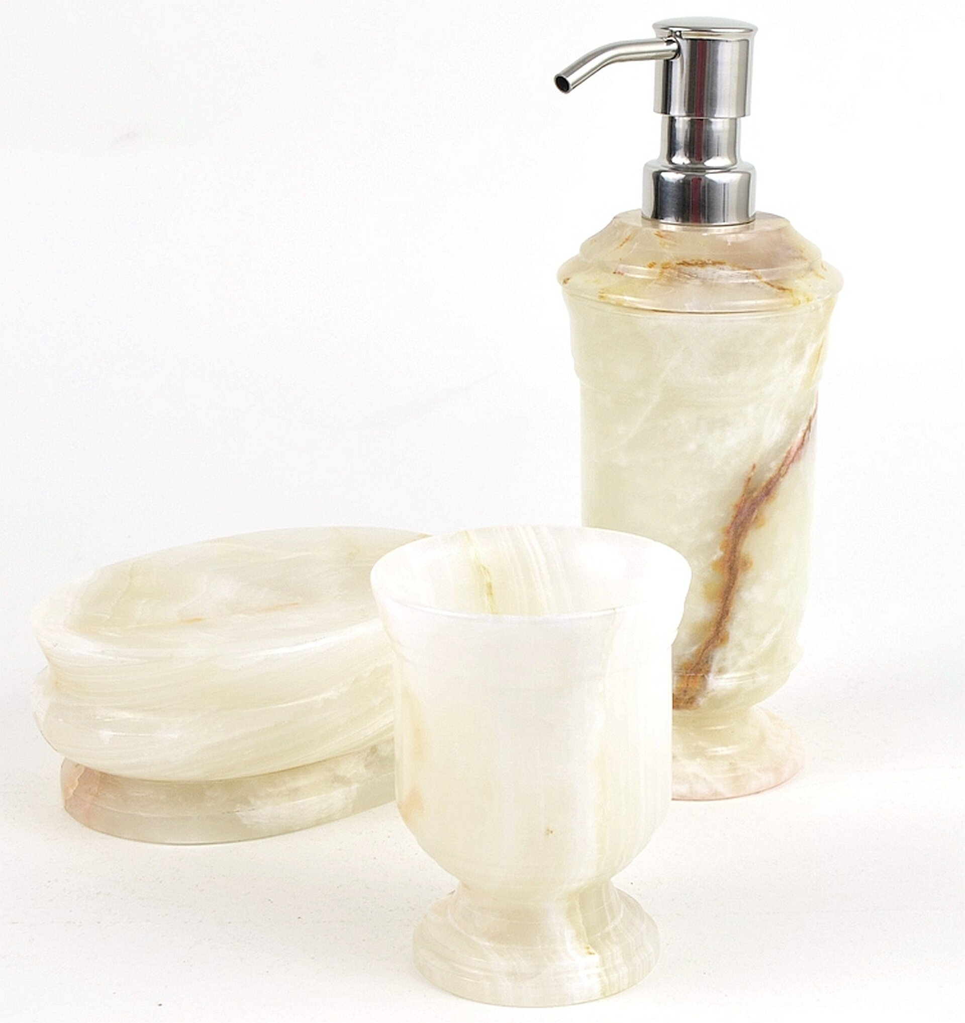 Nature Home Decor Tasmanian 3-Piece Bathroom Accessory Set | Wayfair