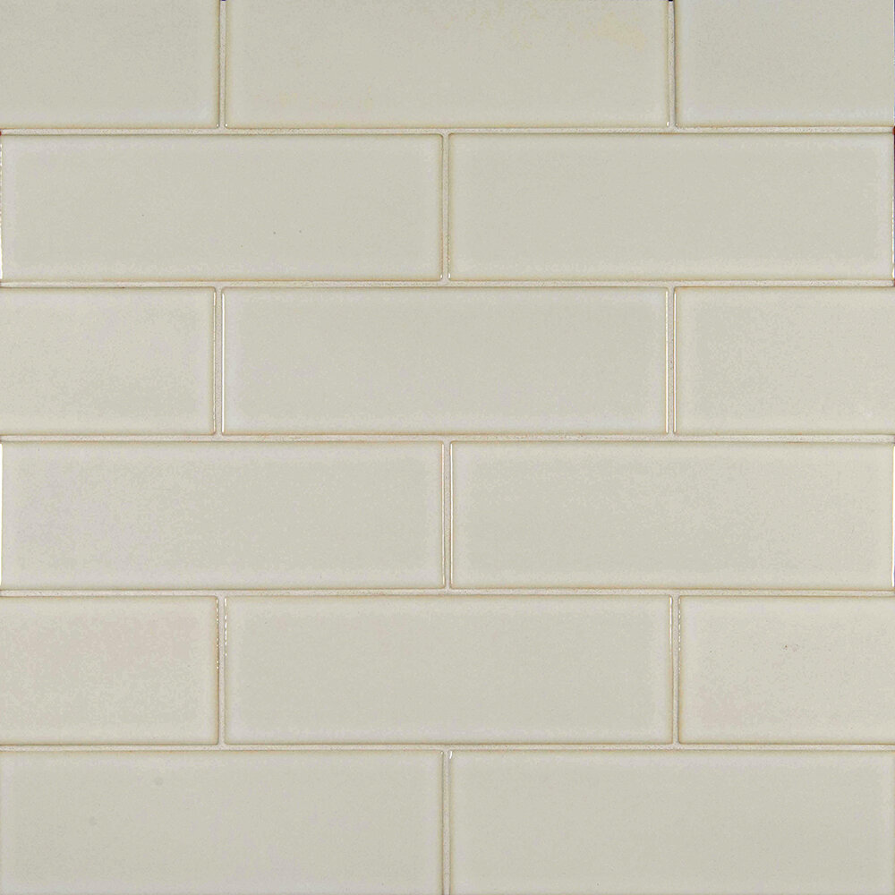 Msi 4 X 12 Glazed Ceramic Tile In Antique White Wayfair
