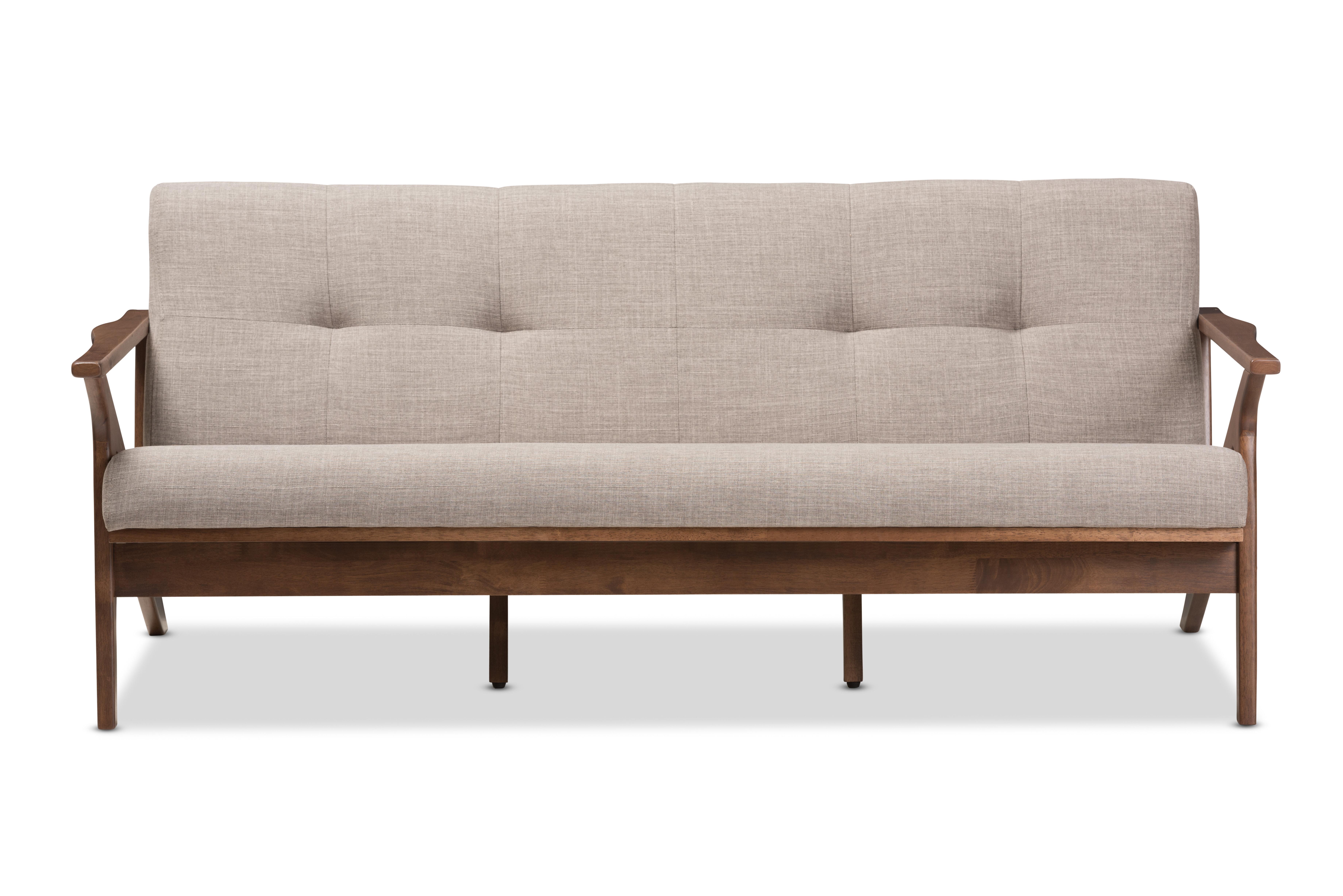 Union Rustic Wojtala Mid Century Modern Sofa Reviews Wayfair