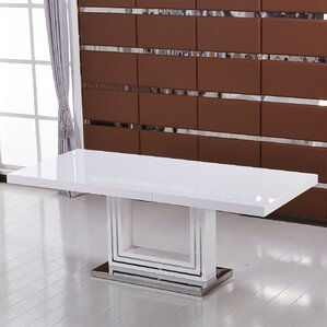 Modern Extendable Dining Table by BestMasterFurniture