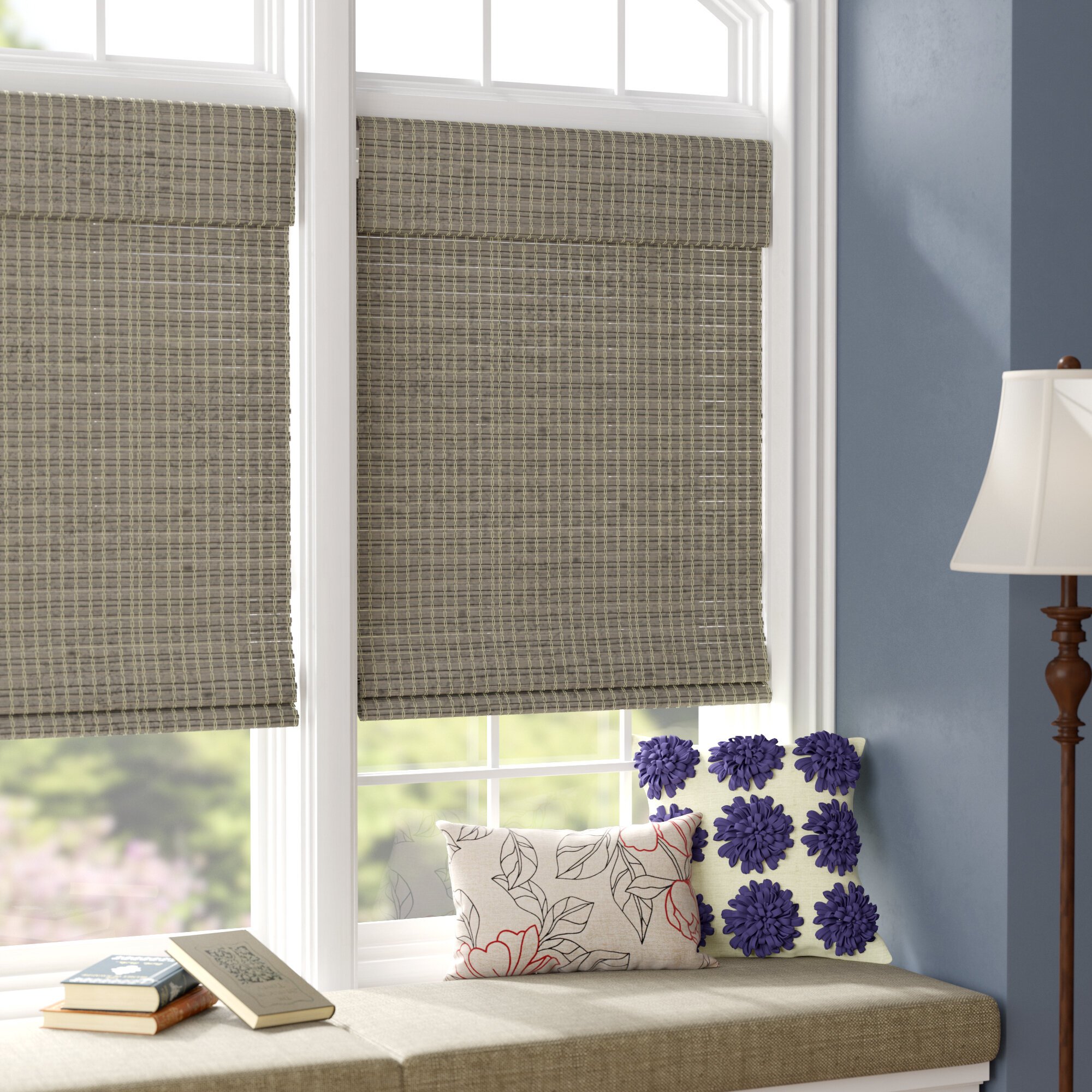 29 Best Roman Blinds By Tonic Living Images On Pinterest: Charlton Home Room Darkening Roman Shade & Reviews