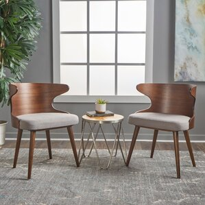 Busti Solid Wood Dining Chair (Set of 2) ..