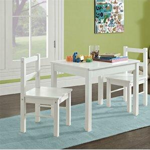 Wonderful Suri Kidsu0027 3 Piece Rectangle Table And Chair Set