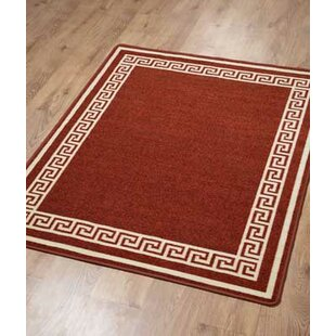Gelmat Athens Terracotta Area Rug by Hazelwood Home