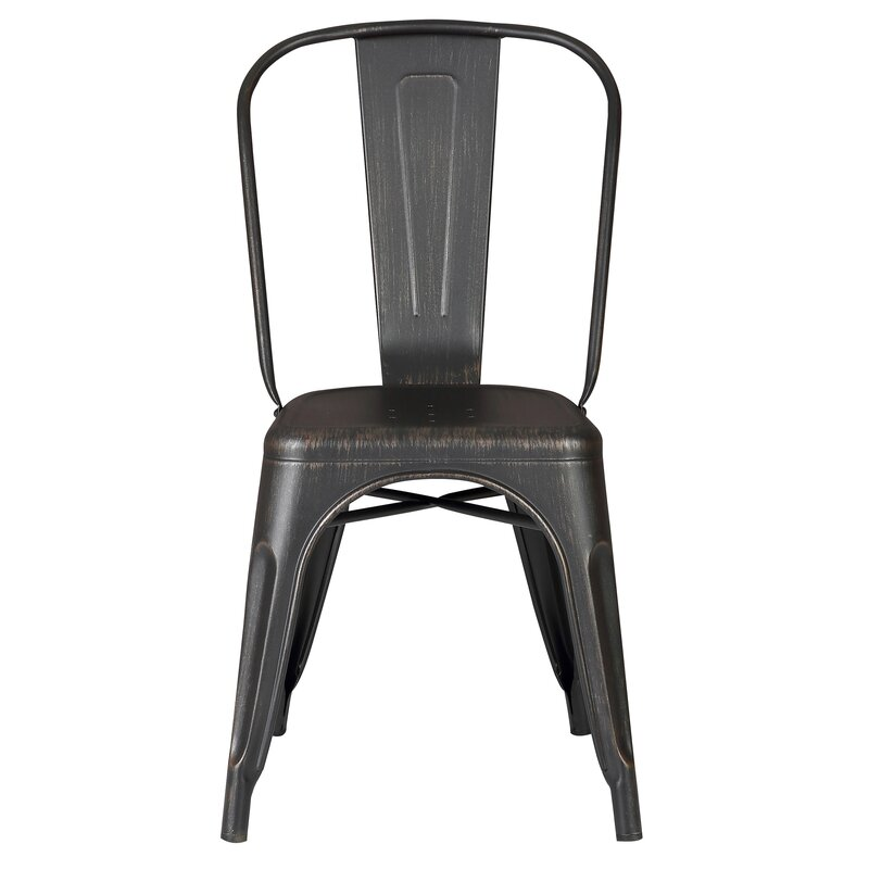 Good Armless Stackable Bistro Side Chair