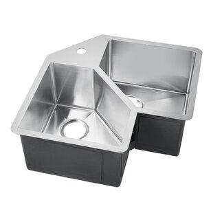 Double Basin Corner Kitchen Sink - Kitchen Appliances Tips ...