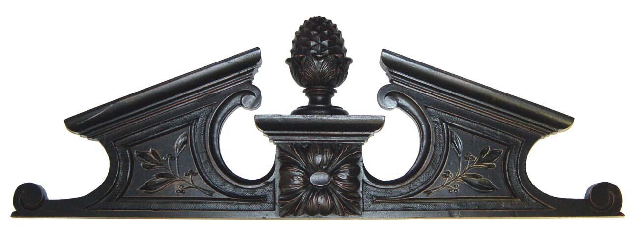 Hickory Manor House Pineapple Pediment Overdoor Wall Décor ...