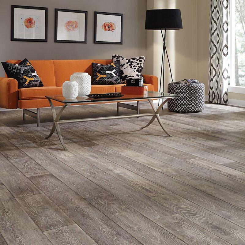 Mannington Antigua 7 Engineered Oak Hardwood Flooring In Silver
