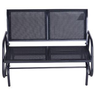Callen 49 Outdoor Patio Swing Glider Bench