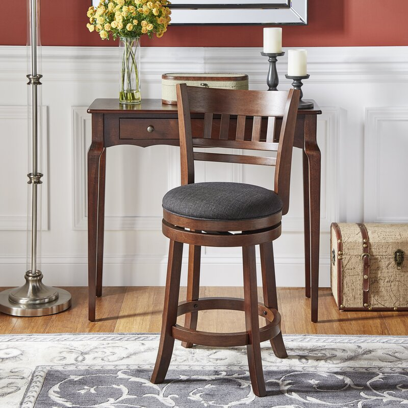 Heartwood 24 Quot Swivel Bar Stool Amp Reviews Birch Lane
