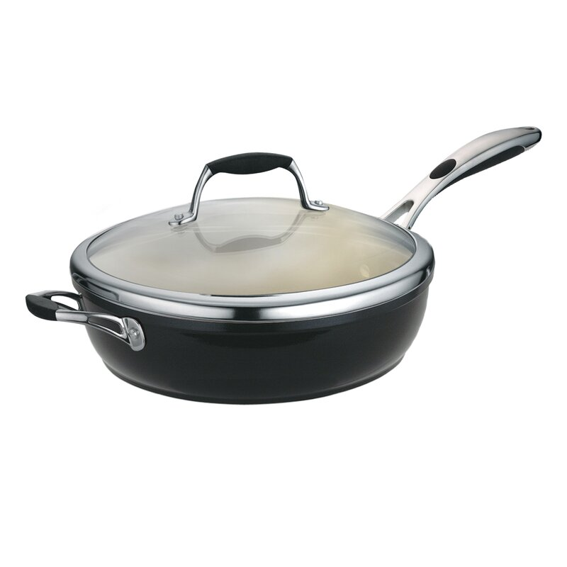 "Gourmet 11"" Skillet with Lid"