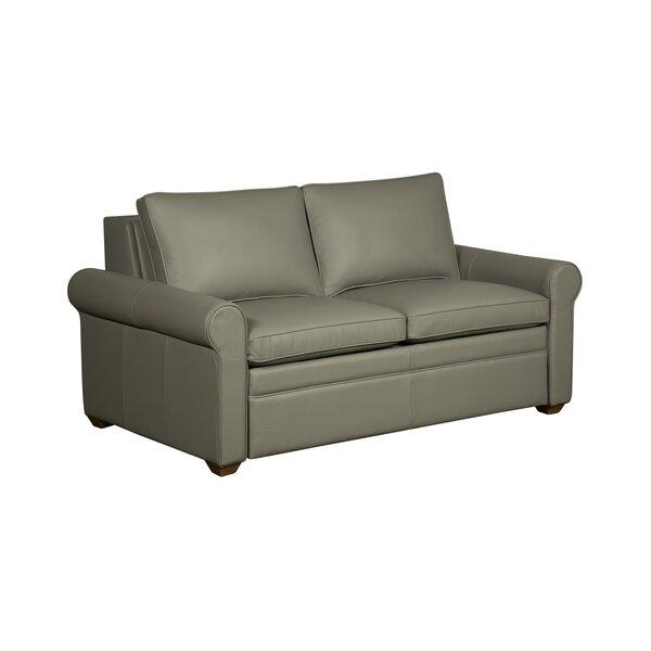 Lovely Westland And Birch Kipling Leather Sleeper Sofa   Wayfair