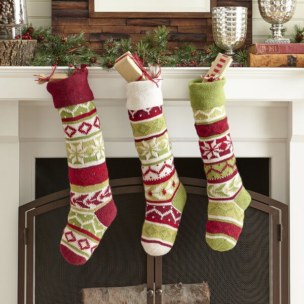 brayden studio fairisle stocking reviews wayfair