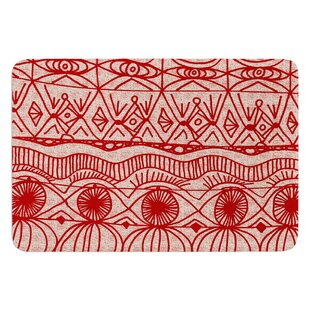 Cranberry By Catherine Holcombe Bath Mat