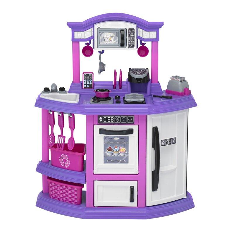 American Plastic Toys 22 Piece Baker\'s Kitchen Set & Reviews | Wayfair