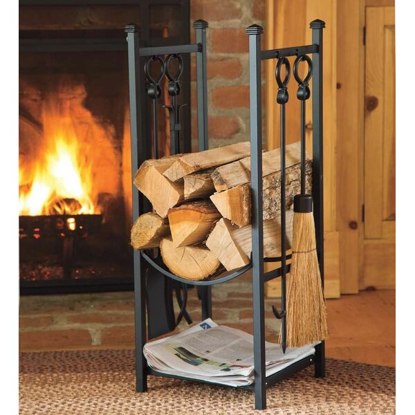 storage small bedroom plow amp hearth log rack amp reviews wayfair 13409