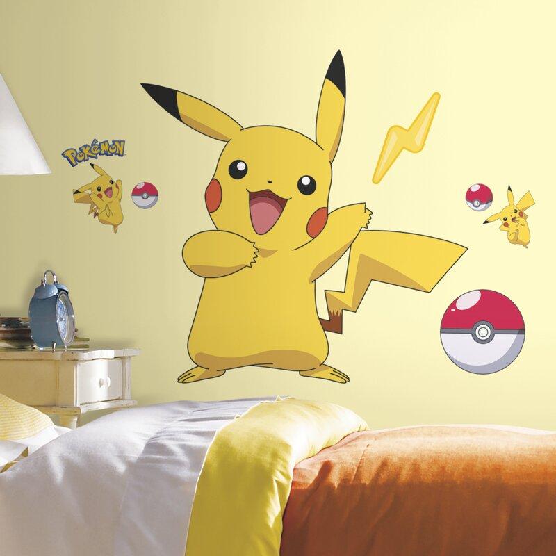 Pokemon Pikachu Wall Decal