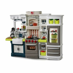 elegant edge kitchen set play kitchen sets  u0026 accessories you u0027ll love   wayfair  rh   wayfair com
