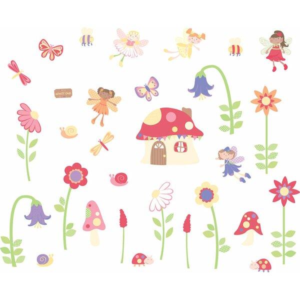 Fun To See Enchanted Garden Fairies Room Décor Kit Wall Decal | Wayfair