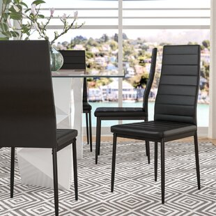 Superieur Raze Modern Upholstered Dining Chair (Set Of 4)