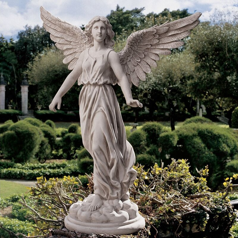 Charmant Angel Of Patience Statue