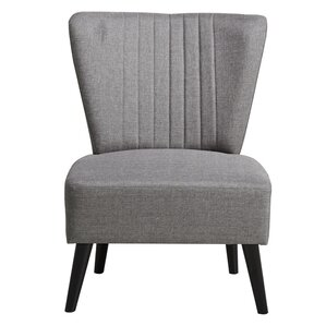 Thayer Channeled Back Slipper Chair by Laurel Foundry Modern Farmhouse