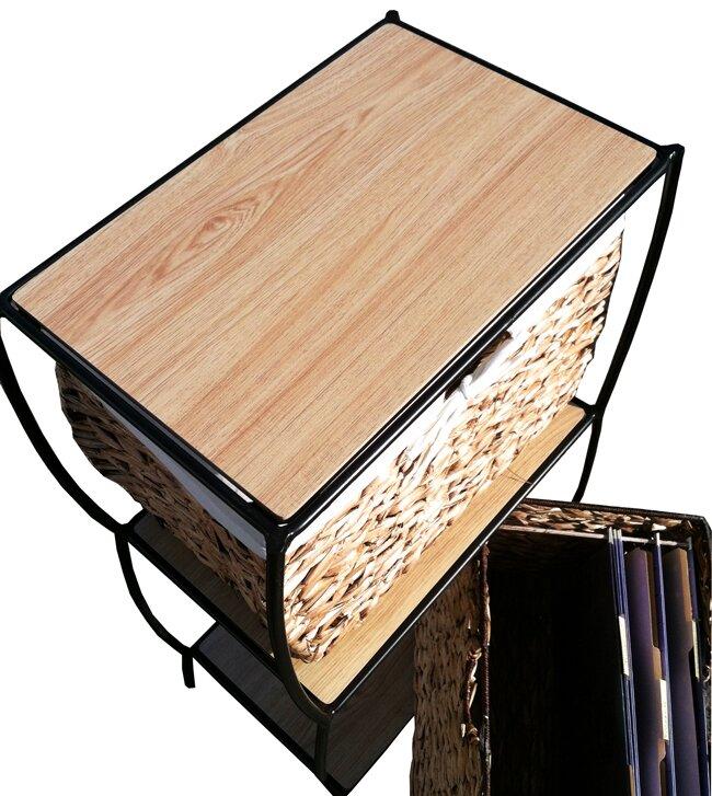Pangaea Seagrass Basket Storage Pangaea Rattan 3 Drawer ...