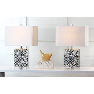 rectangular table lamp low profile barstow 215 rectangle shaped table lamps youll love wayfair