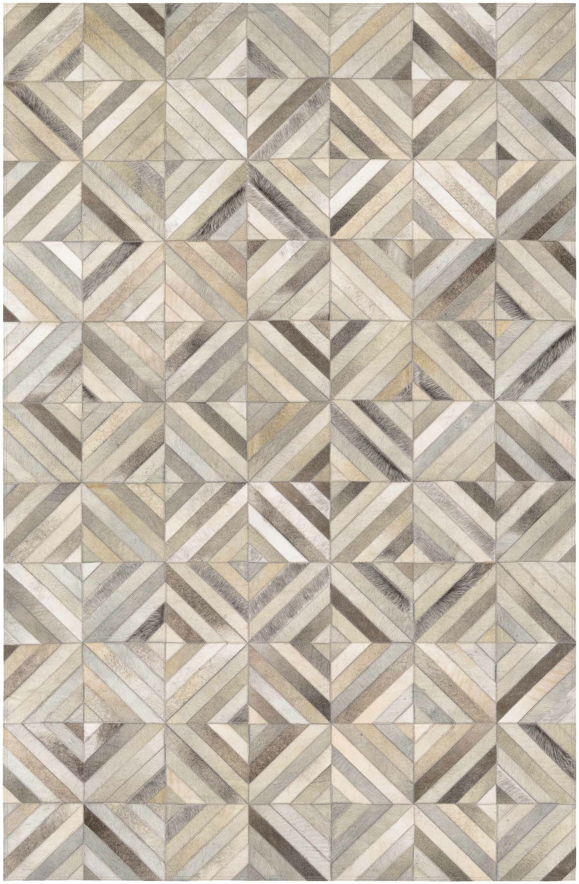 Williston Forge Easthampton Hand Woven Ivory Cowhide Leather Area Rug Reviews Wayfair