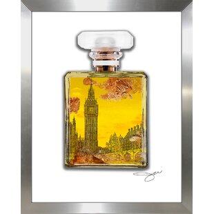 b68a8087b54  London Perfume  Graphic Art Print