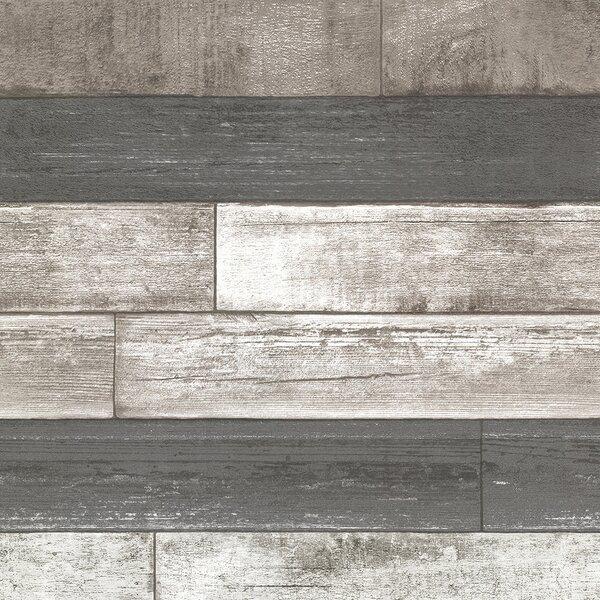 Wood Shiplap Wallpaper Youll Love