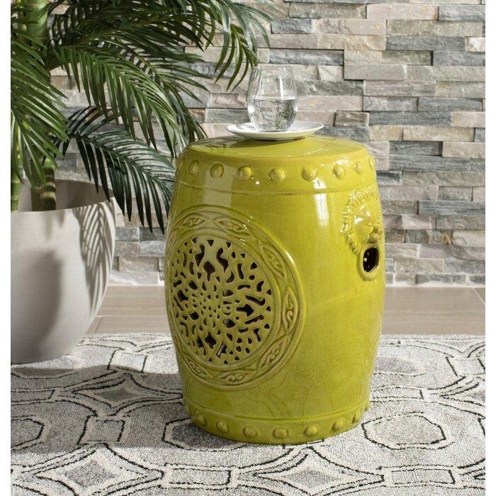 Superb Quarryville Drum Garden Stool Inzonedesignstudio Interior Chair Design Inzonedesignstudiocom