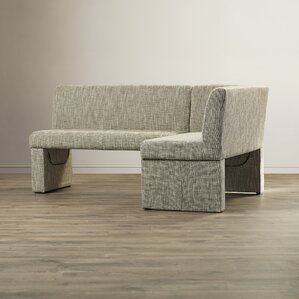 Angelo Upholstered Corner Bench by Wade Logan