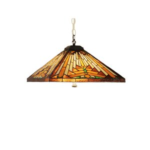 Mission Arts and Crafts Southwest Nuevo 4-Light Pool Table Light