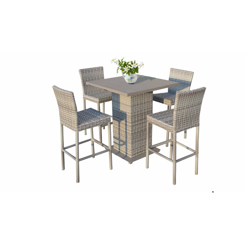 Astonishing Falmouth 5 Piece Bar Height Dining Set Home Interior And Landscaping Ologienasavecom