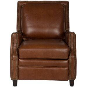 Bischof Leather Recliner  sc 1 st  Wayfair & Real Leather Recliner Chair | Wayfair islam-shia.org